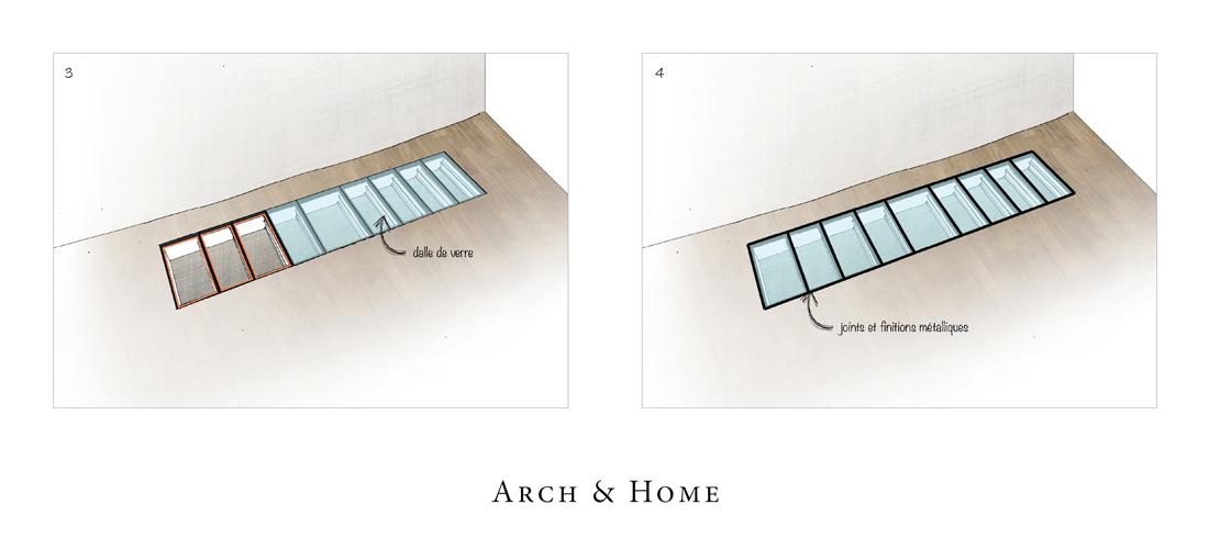 Installer un plancher en verre - Dalle de verre sol prix ...