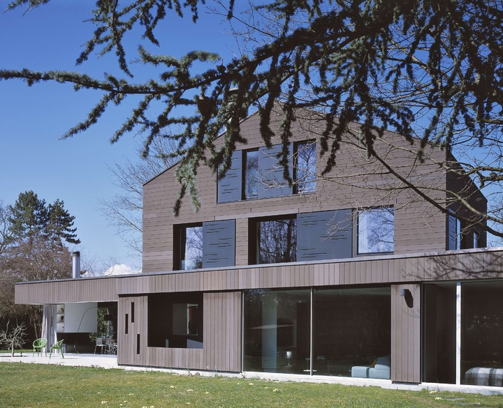 Jean-Michel Landecy-Architecte-Villa Westland-Façade - Marquise - photo 3