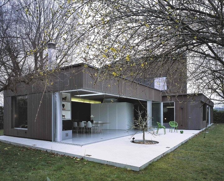 Jean-Michel Landecy-Architecte-Villa Westland-Extérieur Maison - photo 4