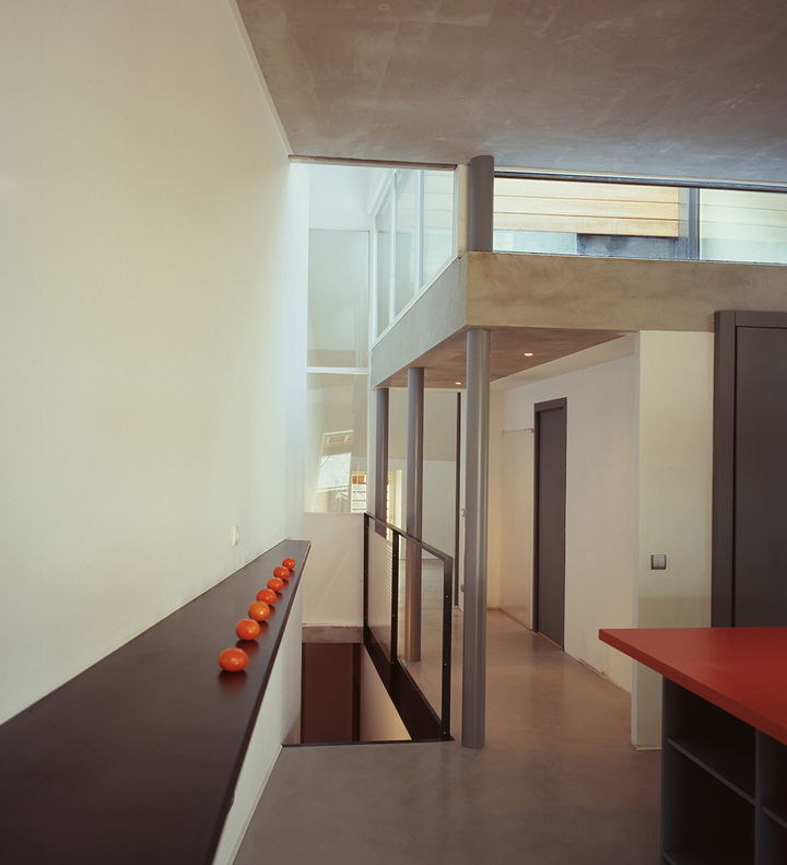 Jean-Michel Landecy-Architecte-L-Loft-Entrée - Couloir - Dégagement - photo 4