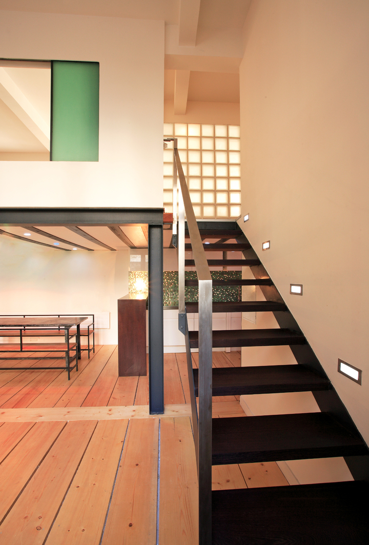 T Design Architecture-Architecte-Naissance d'un Loft-Escalier - Ascenseur - photo 1