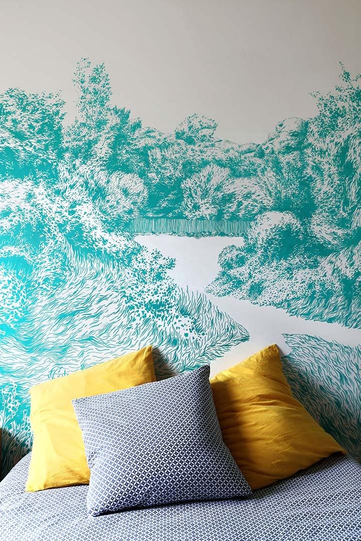 Découvrez Escape Décoration Murale Design Pour Une Chambre