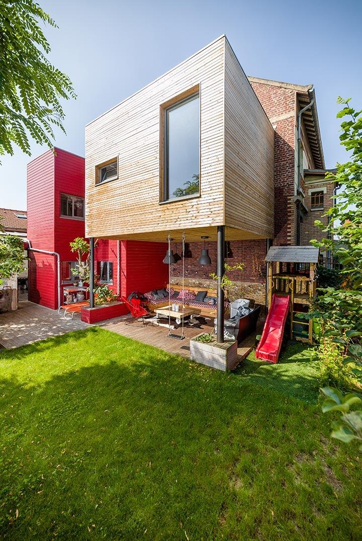 Construction D Une Maison Ossature Bois En Idf Un Projet Agence Villebois