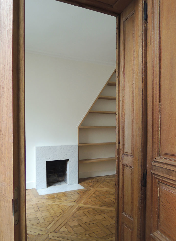 Caroline Champenois-Architecte d'intérieur - Décorateur-Renovation d'un appartement à Paris 6-Cave - photo 3