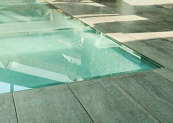 Plancher en verre - comment l installer - arch and home