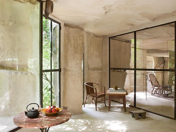 Choisir la pierre apparente for Salon mur en pierre