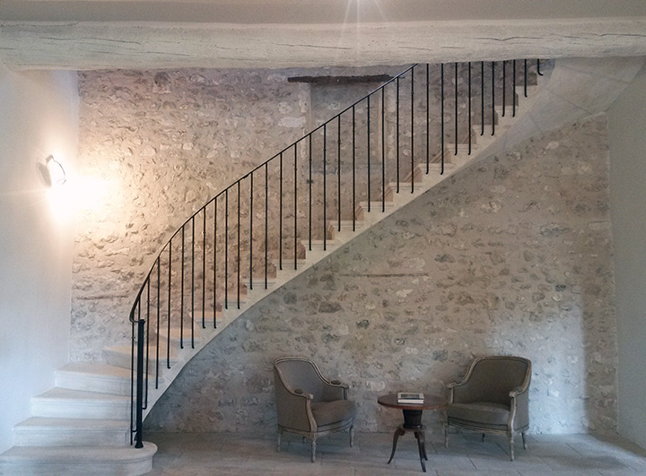 Choisir La Pierre Apparente - Mur interieur en pierre apparente