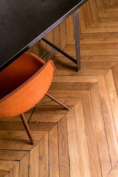 Design parquet en point de Hongrie - Arch & Home