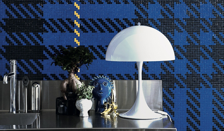 mosaique contemporaine bisazza